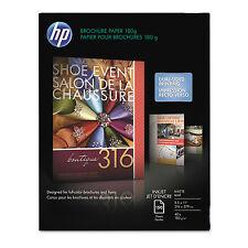 Hp Inkjet Brochure/Flyer Paper 103 Brightness 48lb 8-1/2 x 11 White 150/Pack