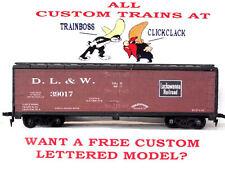 Eric Lohwasser'S Ho Custom Lettered Delaware Lackawanna & Western Reefer Lot B