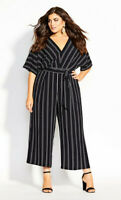 New with Tags CITY CHIC Jumpsuit Delight - size 20 - size L - RRP $129.95