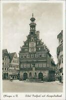 Ansichtskarte Eßlingen a. N. Altes Rathaus mit Kriegerdenkmal 1940 (Nr.9012)