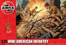 Airfix 1/72nd Scale WWI American Infantry Plastic Soldiers Set