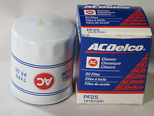 Camaro Classic  Vintage PF25 Oil Filter w/AC logo NEW ACDELCO