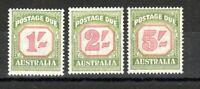Australia 1953-59 Postage Due set to 2s MVLH