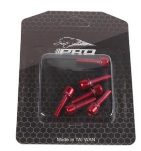 6×M5*18mm Bike Stem Screws Bike Bolts MTB Steering Handlebar Bolts