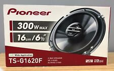 "Pioneer TS-G1620F 600W Max 80W RMS 6.5"" G-Series 2-Way Coaxial Car Speakers NEW"