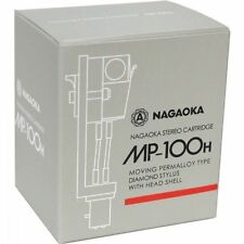 New!! Official NAGAOKA MP-100H Cartridge + Headshell from Made in Japan Import