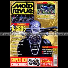 MOTO REVUE N°3232 HONDA 1100 SHADOW YAMAHA XVZ 1300 ROYAL STAR GUZZI CALIFORNIA