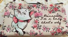 MARIE CAT The Aristocats Make Up Cosmetic Bag Purse Disney Store