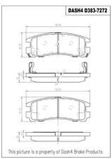 Disc Brake Pad Set-SEMI METALLIC PADS Rear Dash 4 Brake MD383