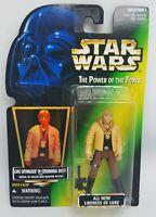 1996 Star Wars POTF Luke Skywalker In Ceremonial Outfit Blaster Pistol Figure