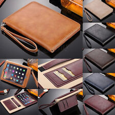 Luxury Leather Handheld Case Card Stand Strap Cover For iPad Mini/ iPad Air/Pro