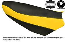 BLACK & YELLOW VINYL CUSTOM FITS YAMAHA NYTRO 08-14 FX MTX XEX SE SEAT COVER
