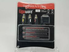 Gigaware Composite A/V Cable for IPOD IPHONE