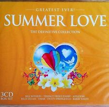 3CD NEW - SUMMER LOVE - Pop Music 3x CD Album Withers Ocean White Weller Squeeze