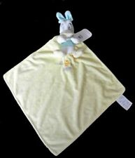 Doudou Daisy DISNEY Plat Mouchoir Carré Jaune Pois Hello Little One NEUF