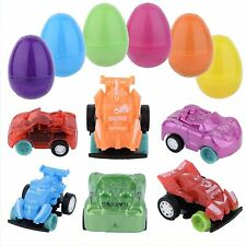 Totem World 144 Toy Filled Plastic Easter Eggs with Miniature Wind-Up Car -...