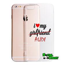 Cover Per Tutti i Modelli IPHONE  - I Love My Audi