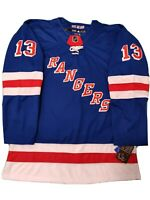 Alexis Lafreniere Brand New Men's Blue New York Rangers Jersey Size 54