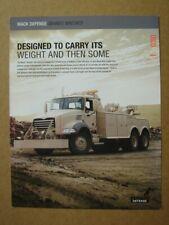 MACK-Defence  Granite Wrecker  leaflet / brochure / Prospektblatt  2013.