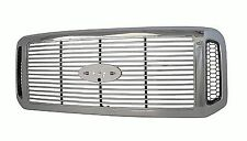 Chrome Grille with Billet Fits: 2005 2006 2007 Ford F250 F350 F450 FO1200459
