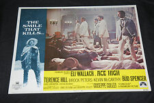 1968 Ace High Lobby Card 69/291 #3 Eli Wallach Brock Peters (C-7)
