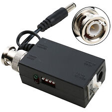 DC12V 1CH Active UTP Video Transmitter Balun BNC For CCTV Camera DVR System.
