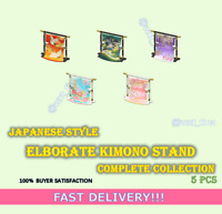 Japanese Style Elaborate Kimono Stand Complete Collection 5 pcs