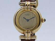 Cartier Must Silver Quartz 097756 Lady