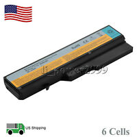 6 Cell Battery for Lenovo IdeaPad G460 G470 G560 G570 V470 V570 Z470 L09S6Y02 US
