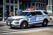 GREEN LIGHT POLICE NYPD K-9 FORD EXPLORER 2020 CUSTOM KITBASH UNIT
