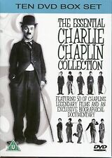 THE ESSENTIAL CHARLIE CHAPLIN COLLECTION - 10 DVD BOX SET 50 Legendary Films