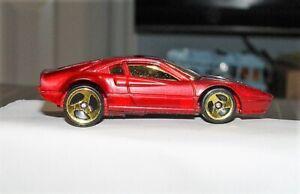 💋FERRARI 328 GTB💎Hot Wheels 1996👓#13366🏁HTF🔥NEW & LOOSE⭐Pulled from GIFTpak