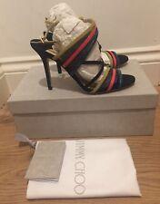 Jimmy Choo Visby Strappy Slingback Sandals UK 4.5 EU 37.5 £575