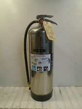 Kidde Fire Extinguisher Model 240 Water Can 2-1/2 gal WORKS