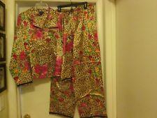 Carol Little Size Medium Women's Pajamas New