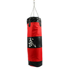 """35""""/90cm Thai MMA Boxing Heavy Punching Bag With Chain (Empty) Sandbags Practice"""