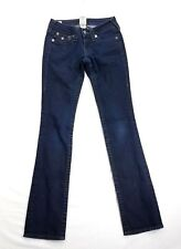 True Religion Billy Womens Skinny Denim Jeans sz 24 actual 25