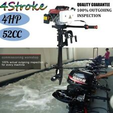 ⭐⭐4 Stroke 4HP⭐⭐Heavy Duty Outboard Motor Boat Engine w/ Good Air Cooling System