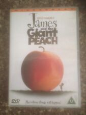 JAMES AND THE GIANT PEACH DVD UK REGION 2