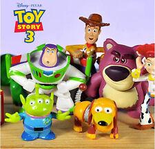 8 Toy Story Bullseye Woody Jessie Buzz Action Figure Doll Kids Cake Topper Decor