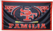 San Francisco 49ers familia flag 3x5ft banner man cave