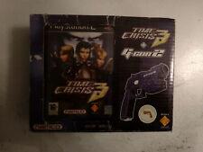Coffret Pistolet Gun Gcon Guncon 2 Time crisis 3 Sony Playstation 2 PS2 PAL FR