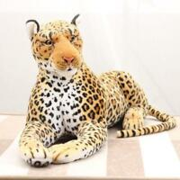 87CM Giant Large Simulation Leopard Plush Soft Toy Stuffed Animal Doll Xmas Gift