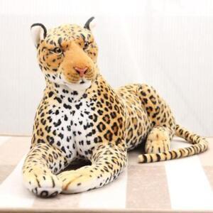 Newest 87CM Giant Leopard Plush Doll Soft Big Stuffed Animals Birthday Xmas Gift
