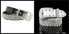 Unbranded Leather Belts for Women with Diamante