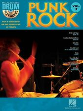 Drum Play-Along Punk Rock Songs Tunes Drummer Music Book & CD