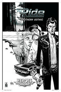 The Ride :: Southern Gothic #2 :: Heroes Exclusive signed by Andrew Robinson