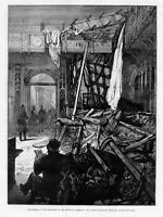 HOUSE OF COMMONS, EFFECTS OF THE EXPLOSION, HISTORY DAMAGE CAUSED BY DYNAMITE