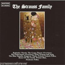 V/A - Masters Of Music: The Strauss Family (Austrian 10 Tk CD Album)