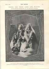 1905 Harem BELLEZZE ABDUL AZIZ TIPSTER FALSO PROFETA HM Bateman